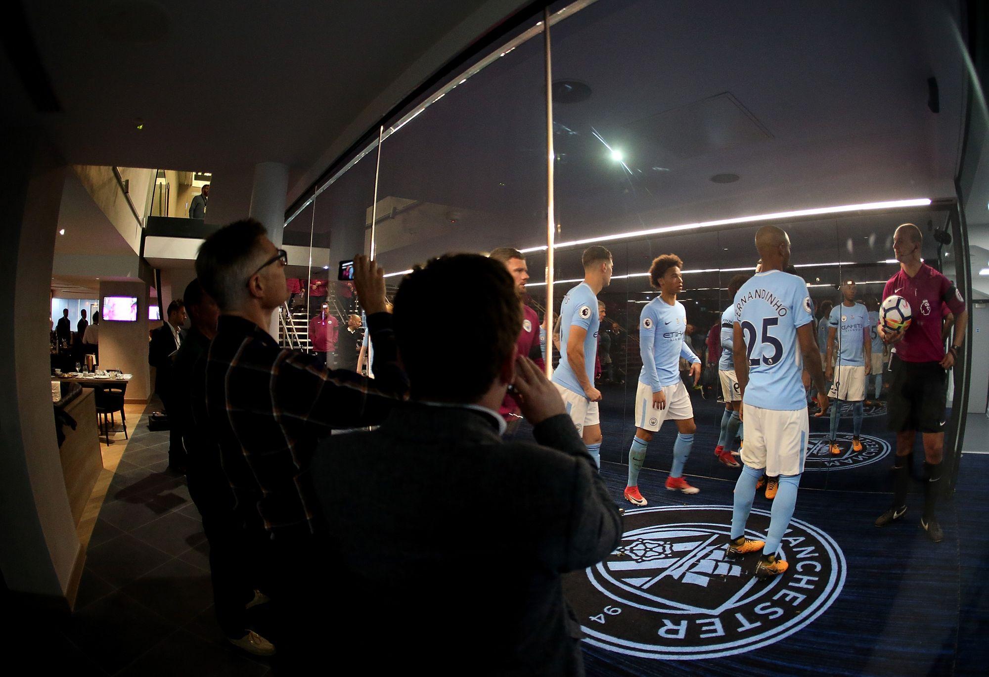 Man City's Tunnel Club