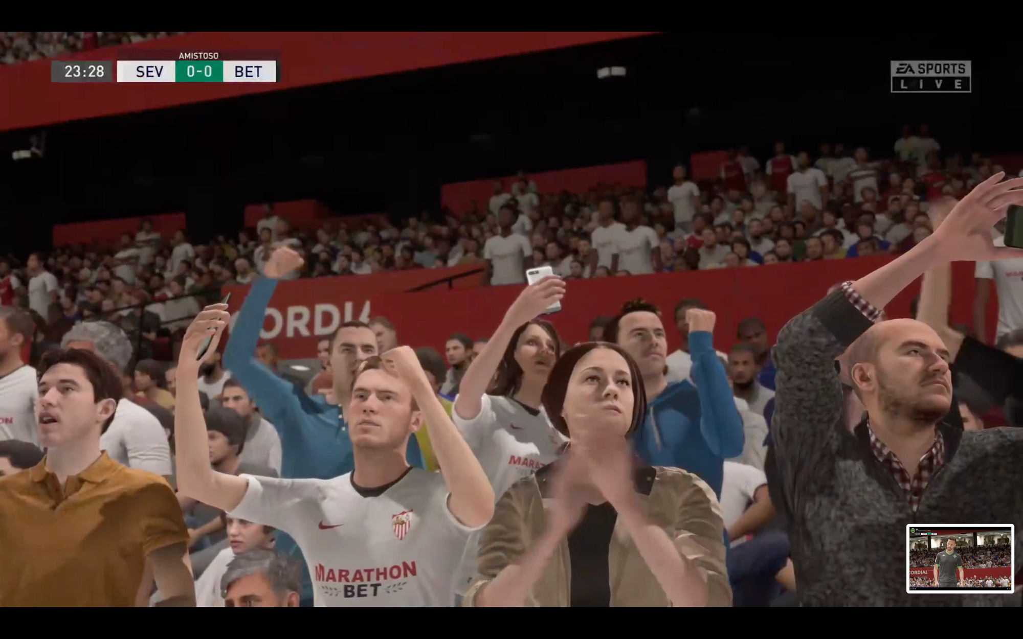 Turning to FIFA 20 to settle the pain of the cancelled Sevilla Derby
