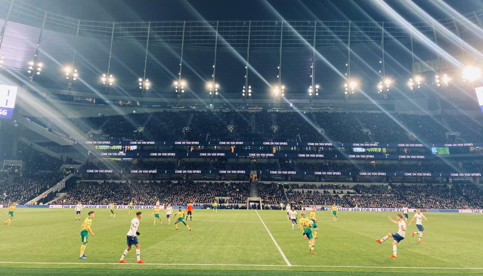 A visit to Tottenham Hotspur's new stadium