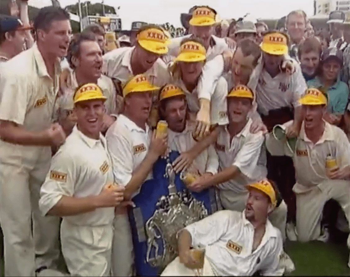 25 years ago this week Queensland finally won cricket's Holy Grail