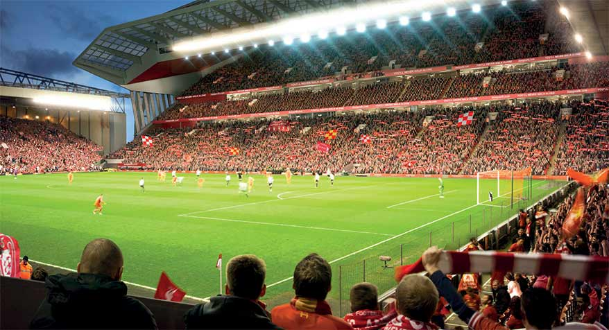 Liverpool FC remembering sustainability in challenging times