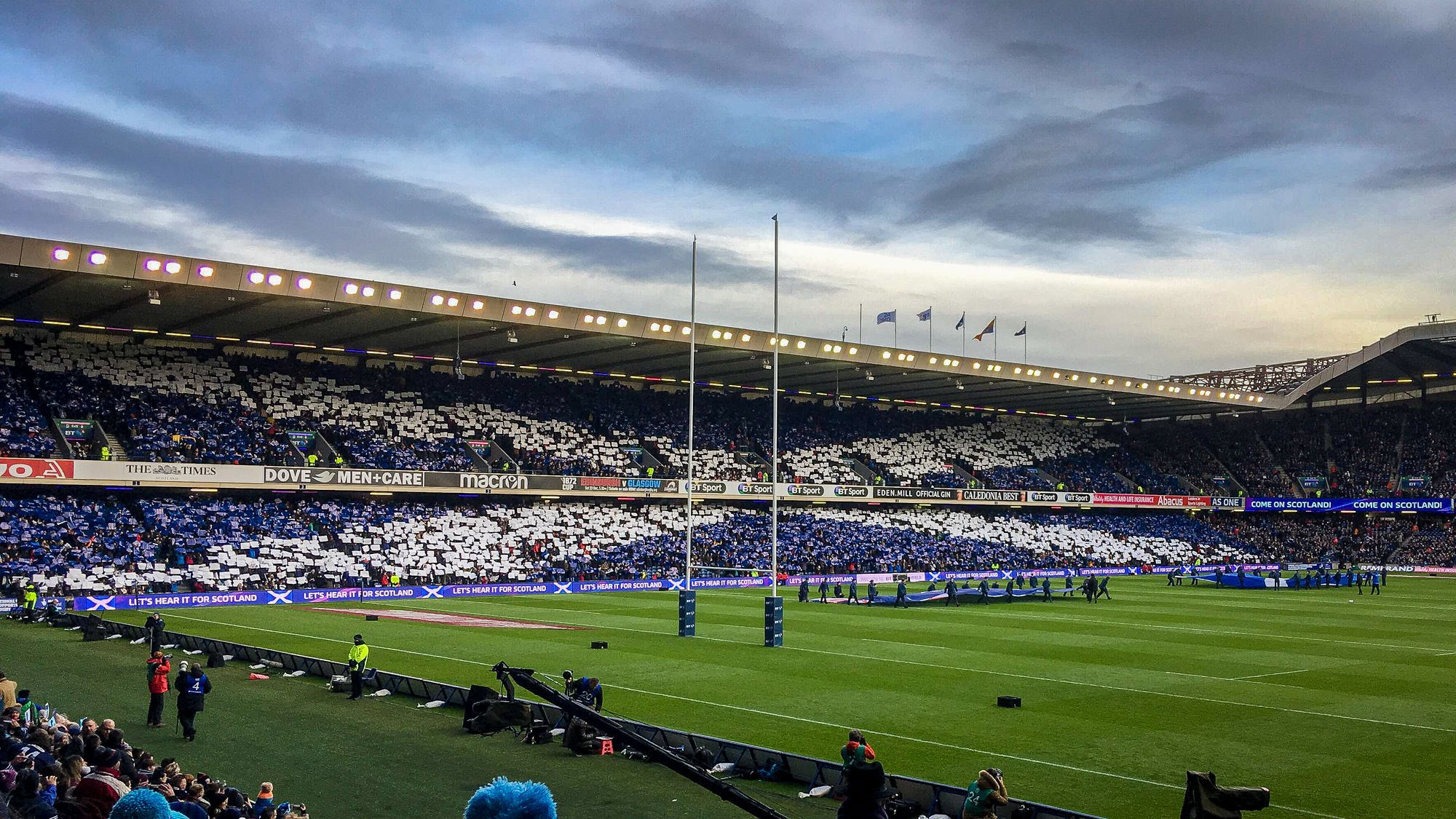 Why tomorrow at Murrayfield is such an important date for UK sport
