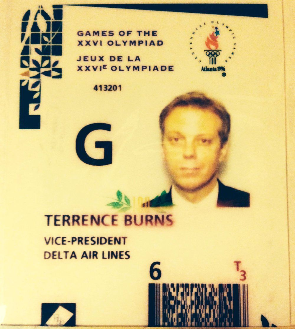 Terrence Burns Olympic accreditation