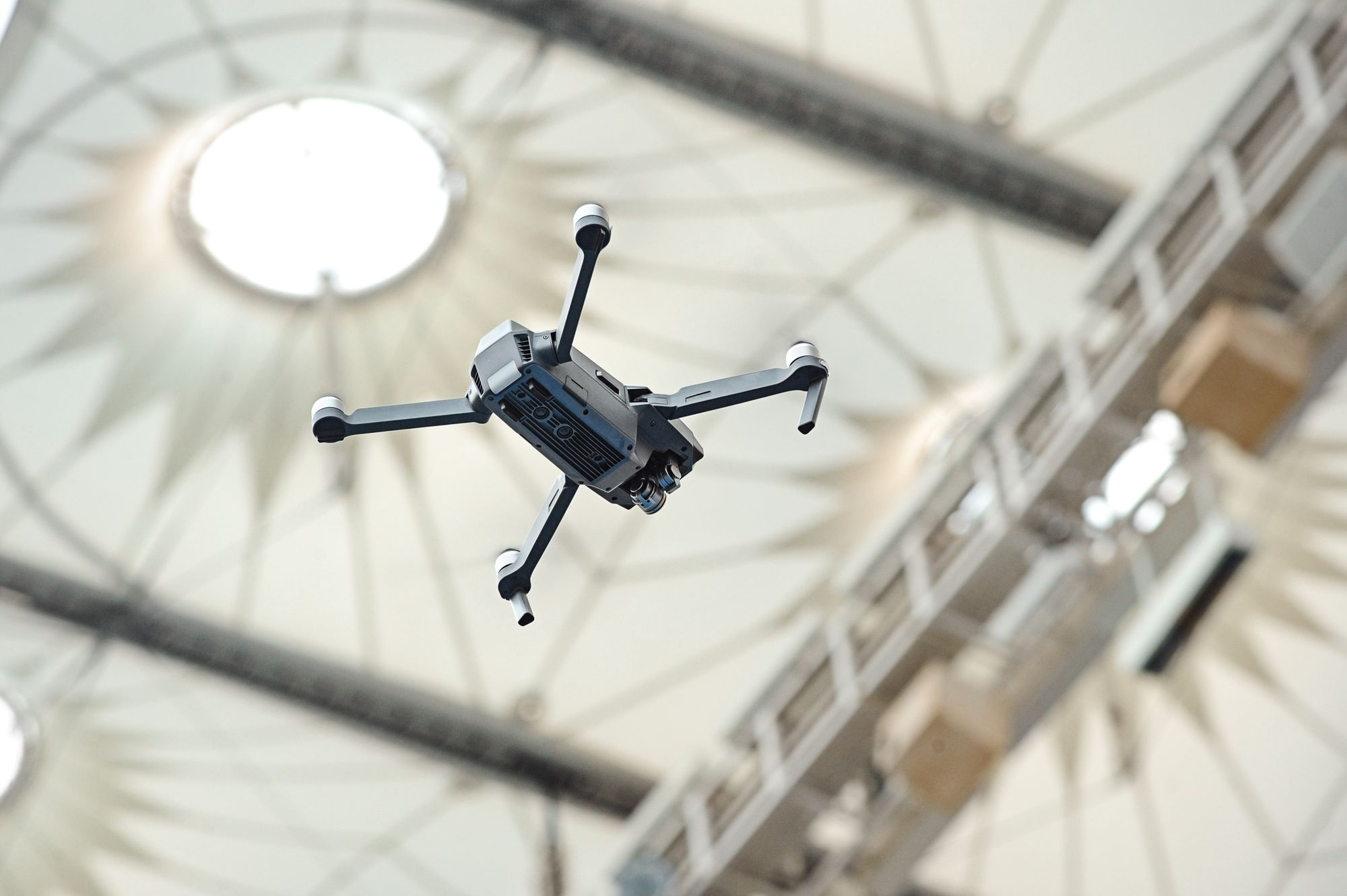 Drone solution 'reduces stadium cleaning time by 95%'