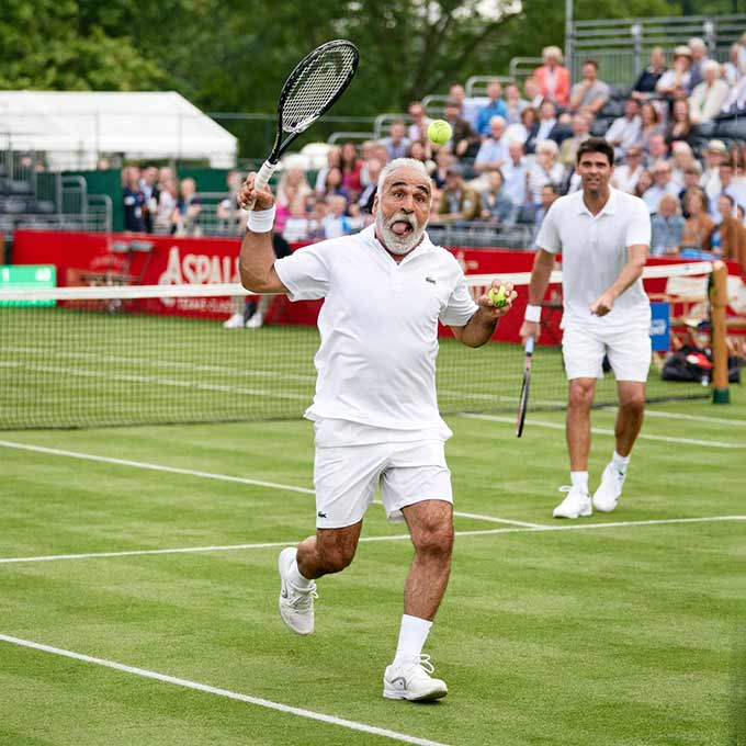 Mansour Bahrami, Mark Philippoussis, Hurlingham