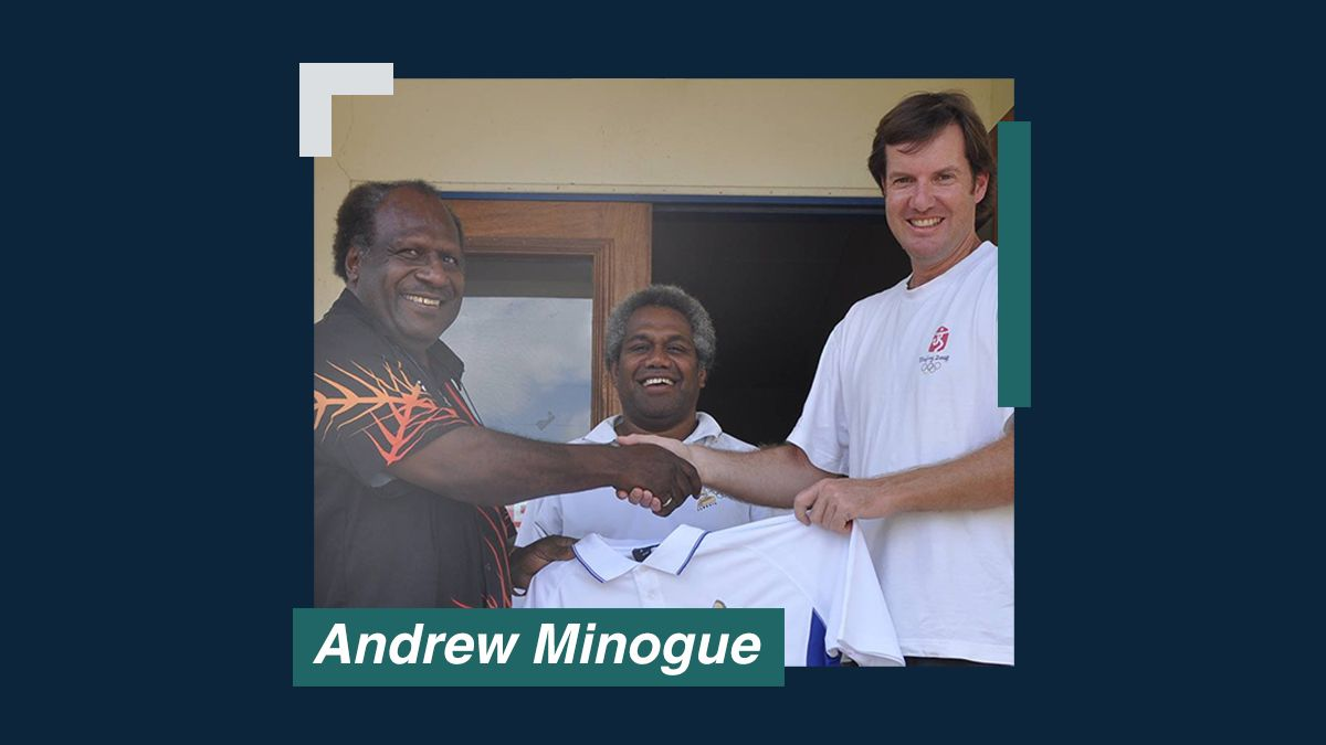 Heroes of VIP Hospitality: Andrew Minogue